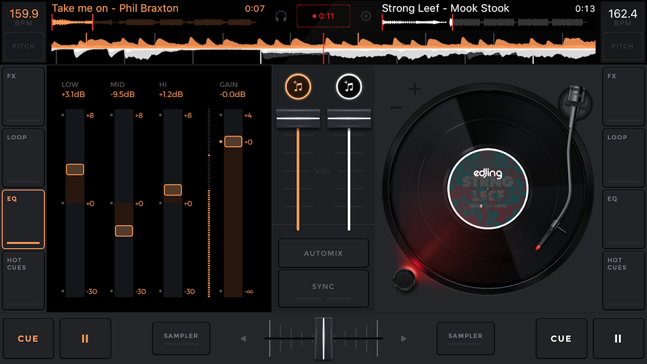 edjing Mix: DJ music mixer The App Store android Code Lads