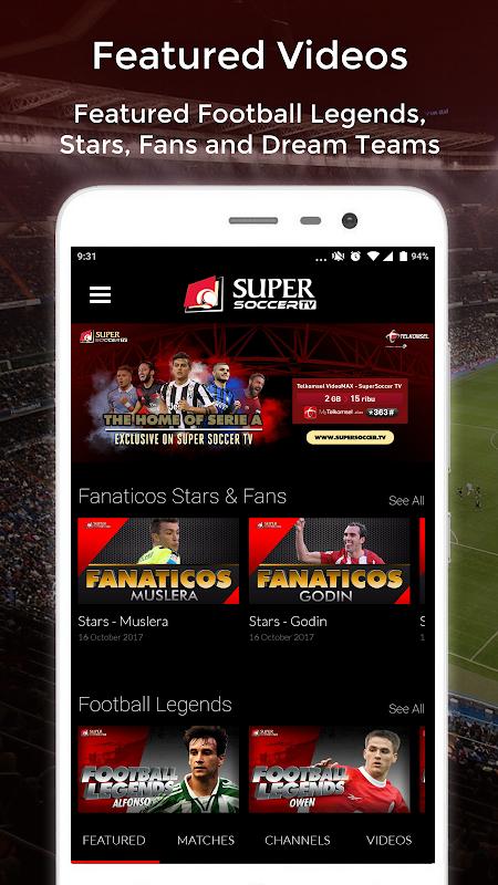 Super Soccer TV The App Store
