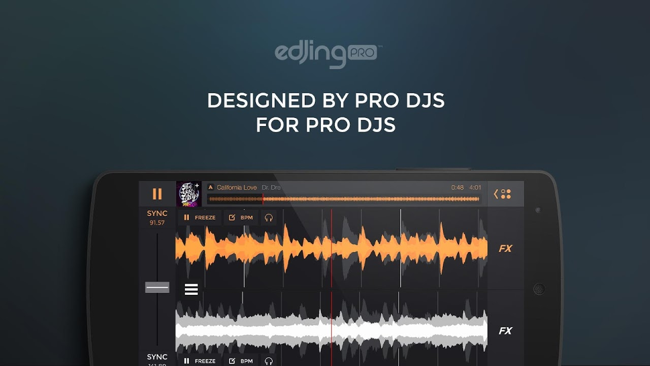 edjing PRO - Music DJ mixer The App Store