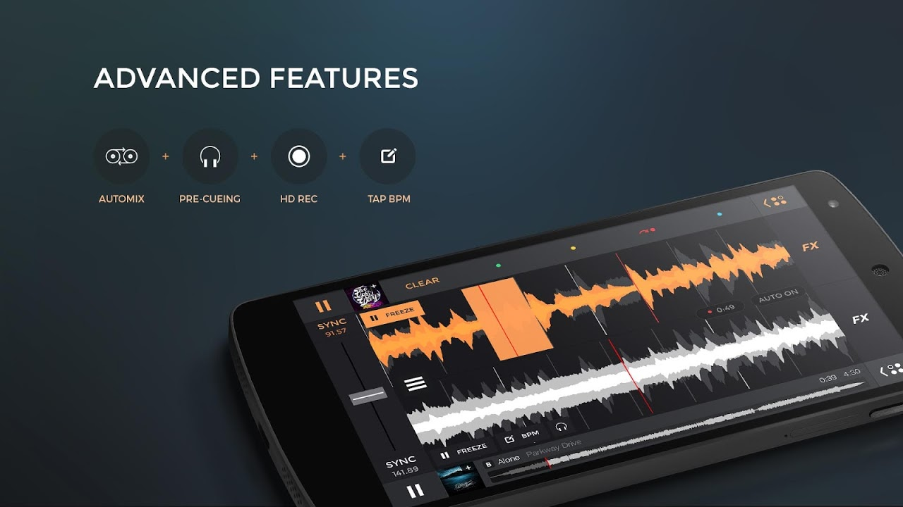 edjing PRO - Music DJ mixer The App Store android Code Lads