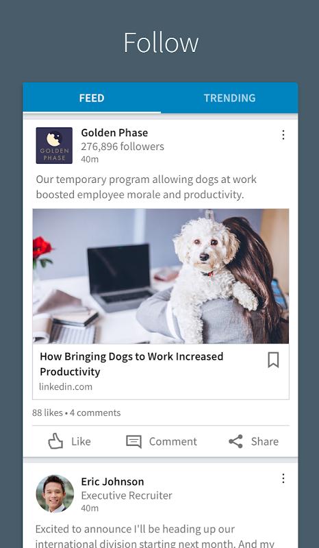 Screenshot LinkedIn APK