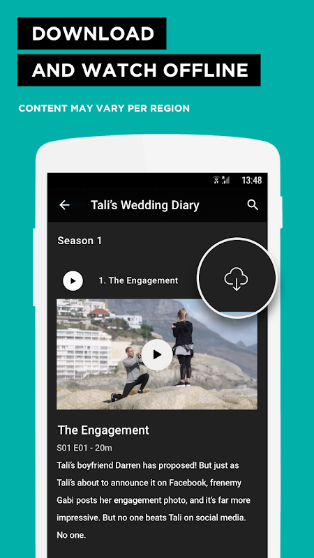 Screenshot Showmax - Watch TV shows and movies APK