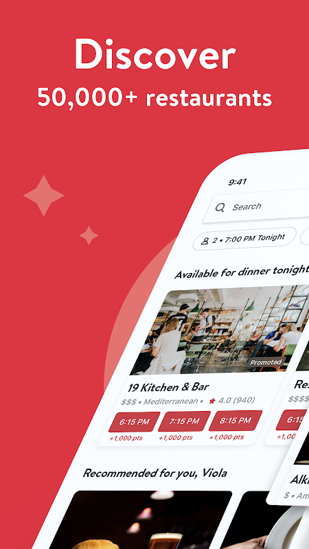 OpenTable - Book Restaurants The App Store android Code Lads