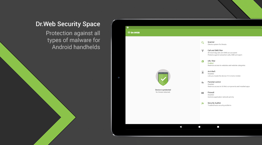 Dr.Web Security Space The App Store