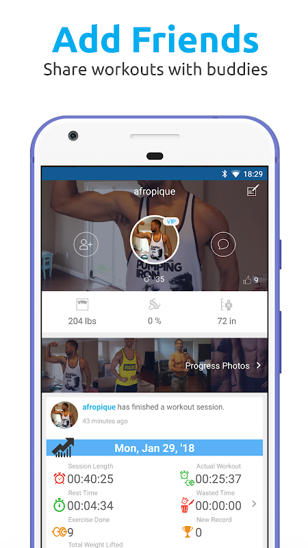 JEFIT Workout Tracker, Weight Lifting, Gym Log App The App Store