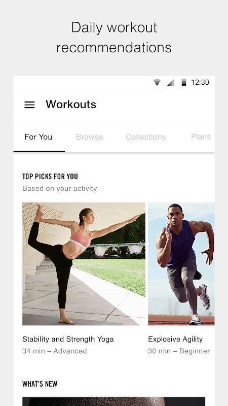 Nike Training Club - Workouts & Fitness Plans The App Store
