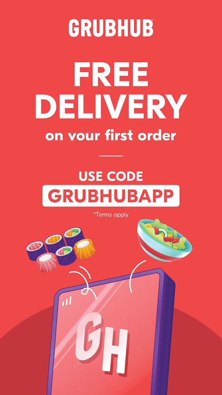 Grubhub: Local Food Delivery & Restaurant Takeout The App Store android Code Lads