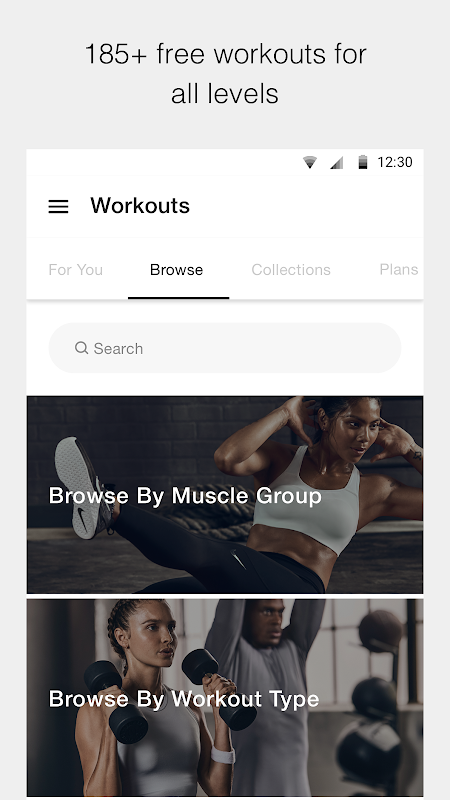 Nike Training Club - Workouts & Fitness Plans The App Store android Code Lads