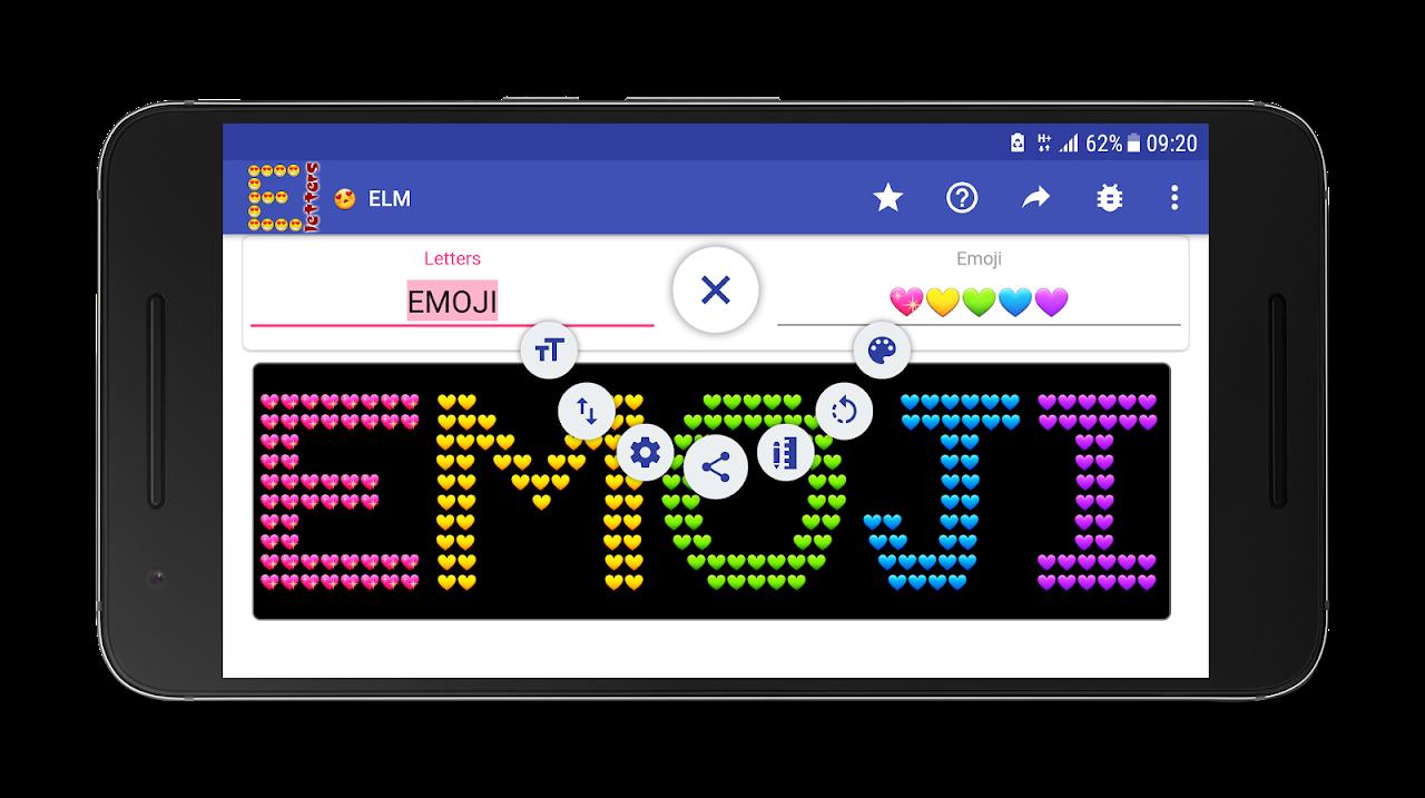 Screenshot Emoji Letter Maker 😍 APK