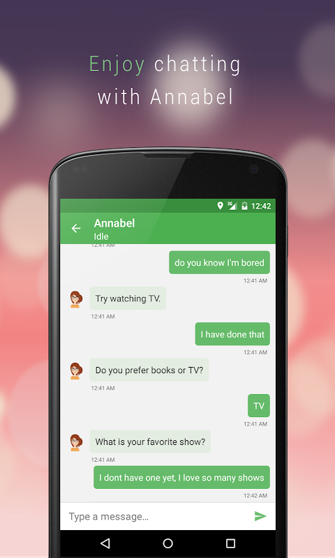 Chat with Annabel The App Store android Code Lads