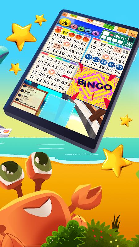 Screenshot Praia Bingo + VideoBingo Free APK