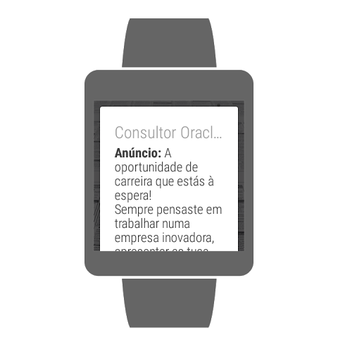 Screenshot Net empregos Android APK