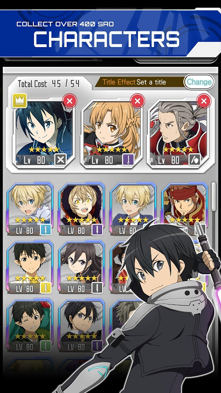 SWORD ART ONLINE:Memory Defrag The App Store android Code Lads