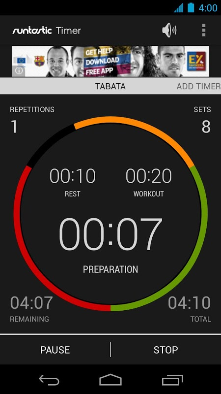 Runtastic Timer The App Store