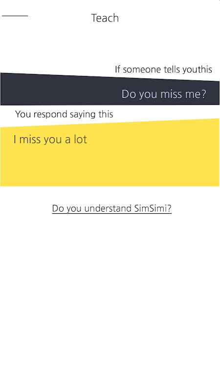 SimSimi The App Store android Code Lads
