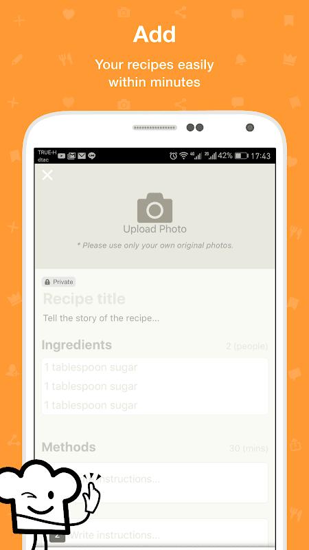 Screenshot Cookpad - Recipe Sharing App APK