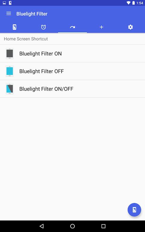 Screenshot Bluelight Filter for Eye Care APK