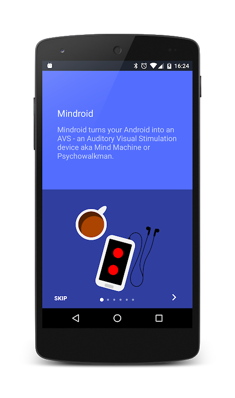 Screenshot Mindroid: Psychowalkman, Mind machine, AVS APK