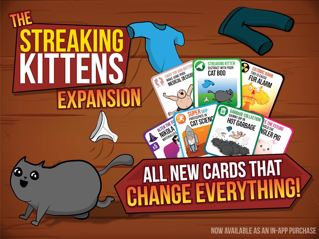 Screenshot Exploding Kittens® - Official APK
