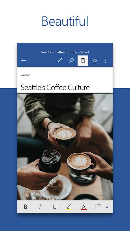 Microsoft Word The App Store