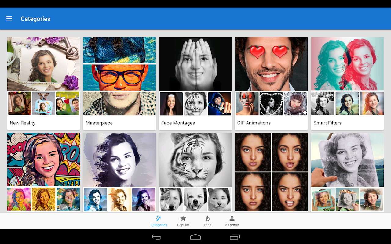 Screenshot Photo Lab Picture Editor FX: filters & art montage APK