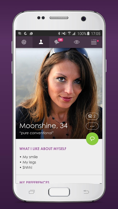 C-Date – Dating with live chat The App Store