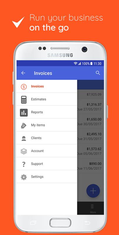 Screenshot Invoice & Estimate on the Go APK