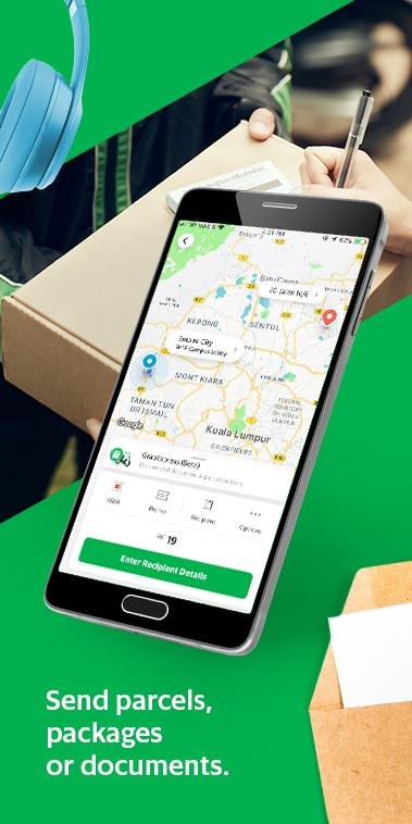 Screenshot Grab - Transport, Food Delivery, Payments APK