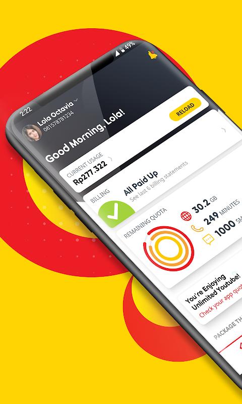 myIM3 - Cek Kuota & Beli Paket Internet The App Store