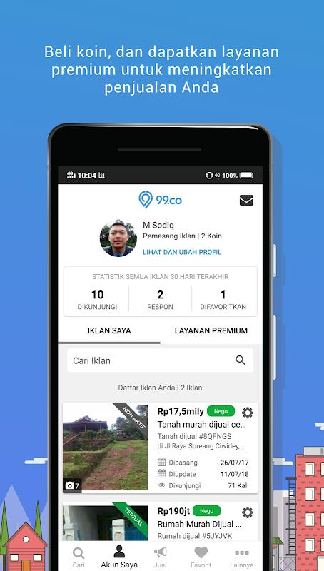 Screenshot 99.co Indonesia: Jual Beli Properti Online APK