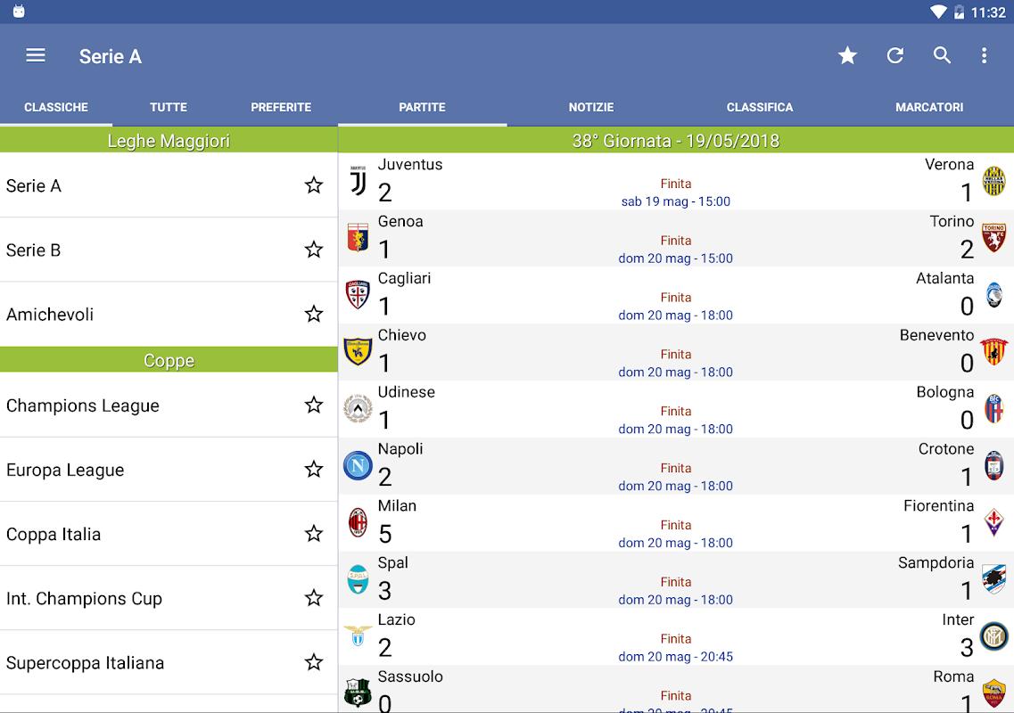 Italian Soccer 2018/2019 The App Store