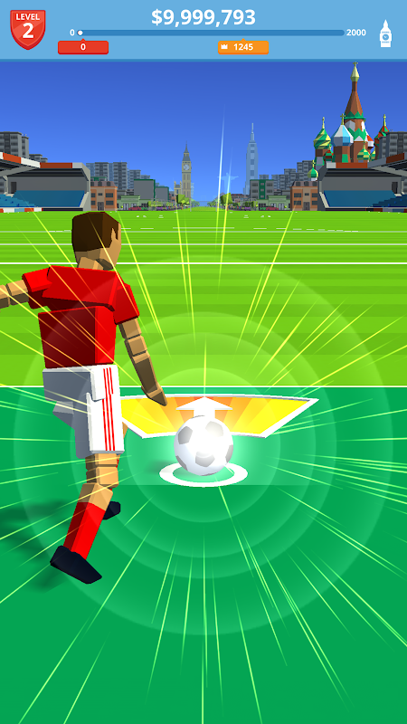 Screenshot Soccer Kick APK