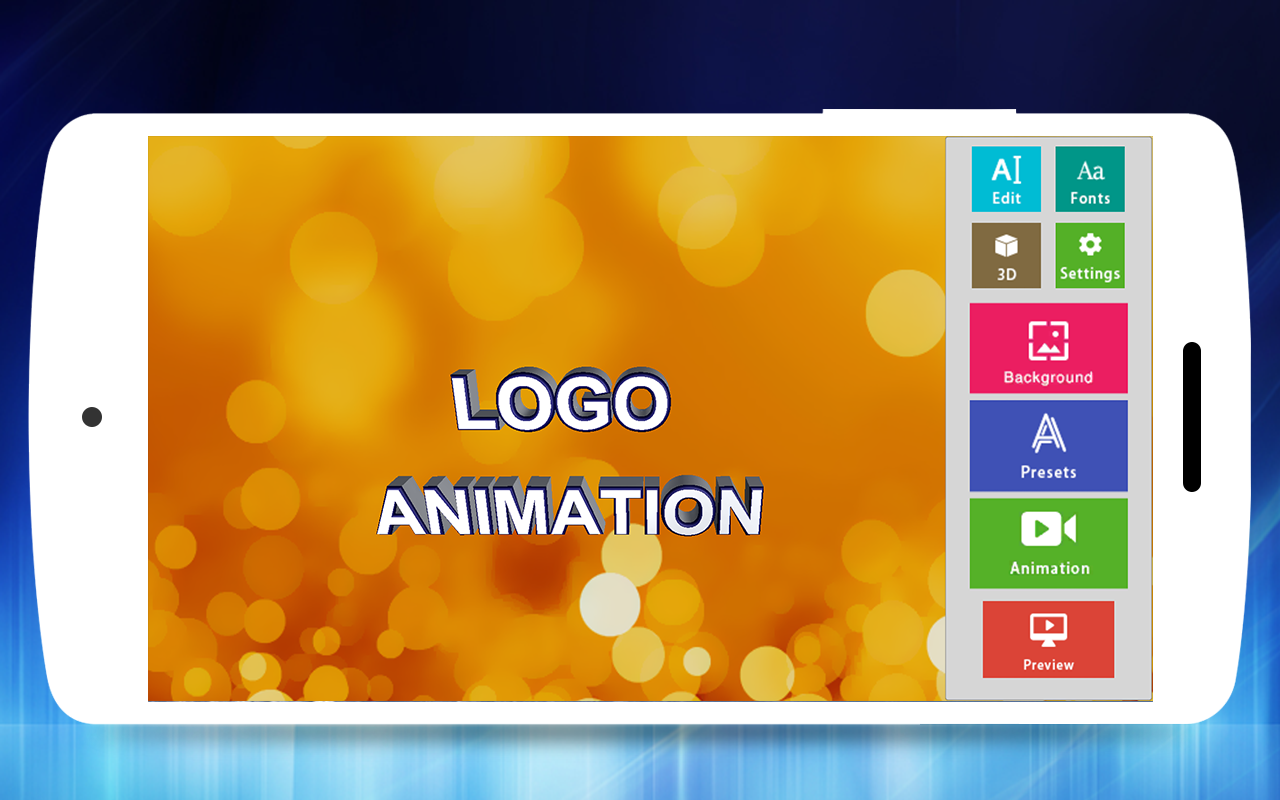 Screenshot 3D Text Animator - Intro Maker, Logo Animation APK