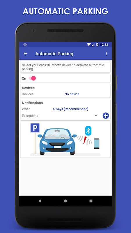 Screenshot ParKing Premium: Find my car - Automatic APK