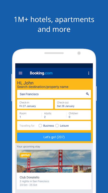 Screenshot Booking.com Hotel Reservations APK