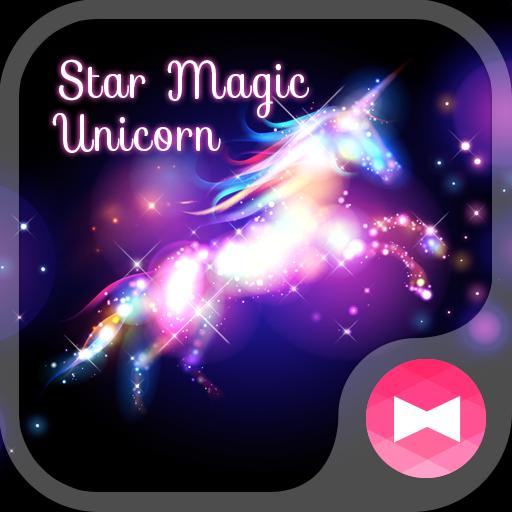 Beautiful Wallpaper Star Magic Unicorn Theme