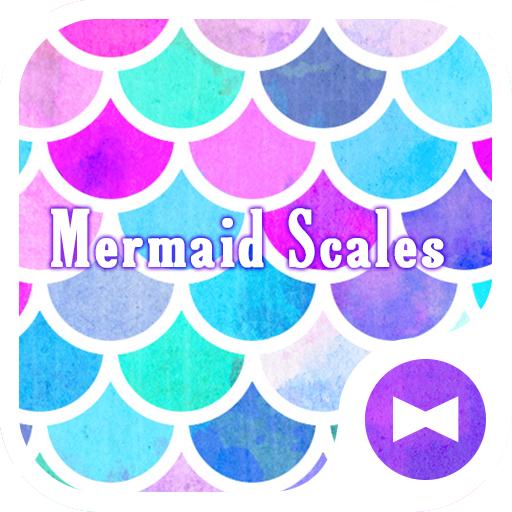 Cute Wallpaper Mermaid Scales Theme
