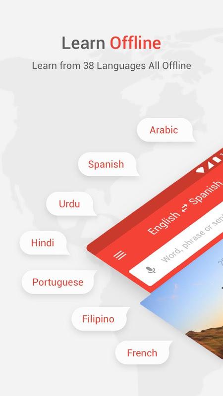 Screenshot U-Dictionary: English offline APK