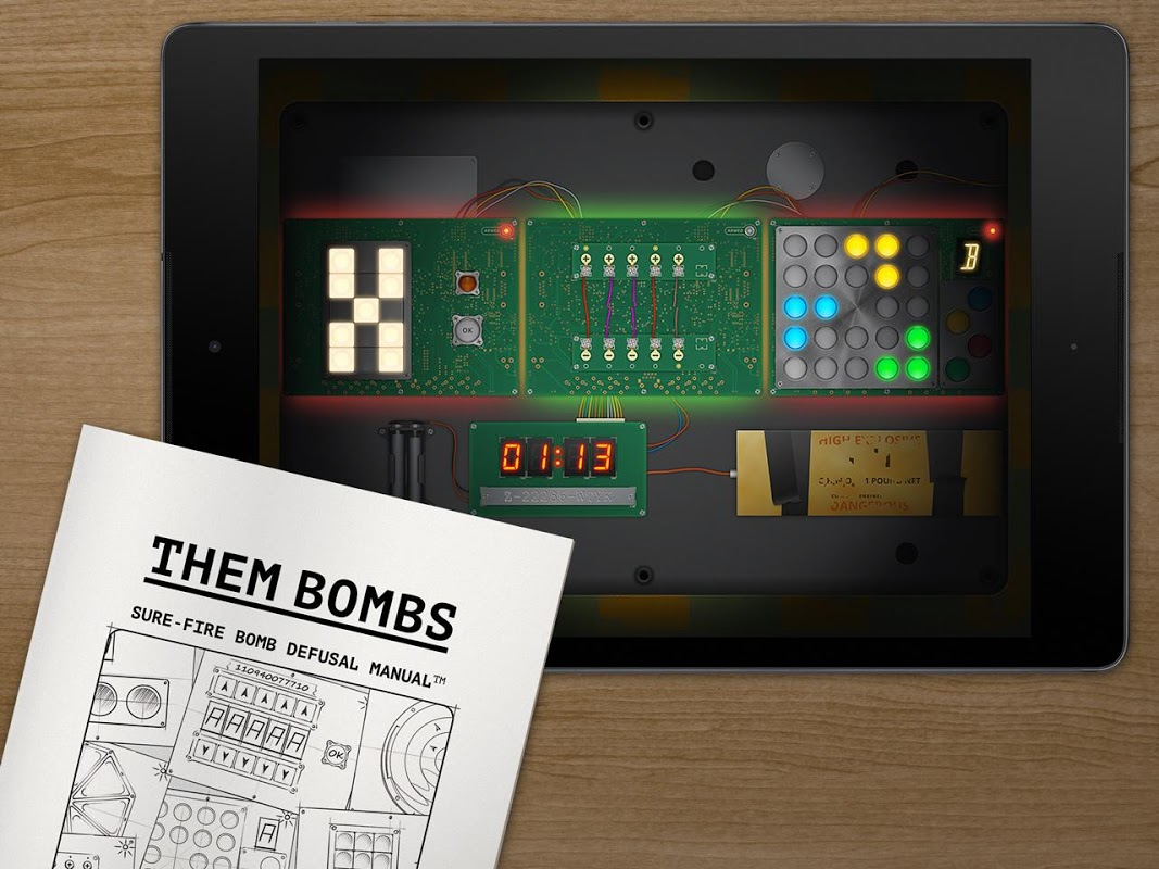Screenshot Them Bombs: co-op board game play with 2-4 friends APK