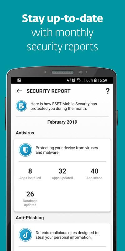 ESET Mobile Security & Antivirus The App Store android Code Lads