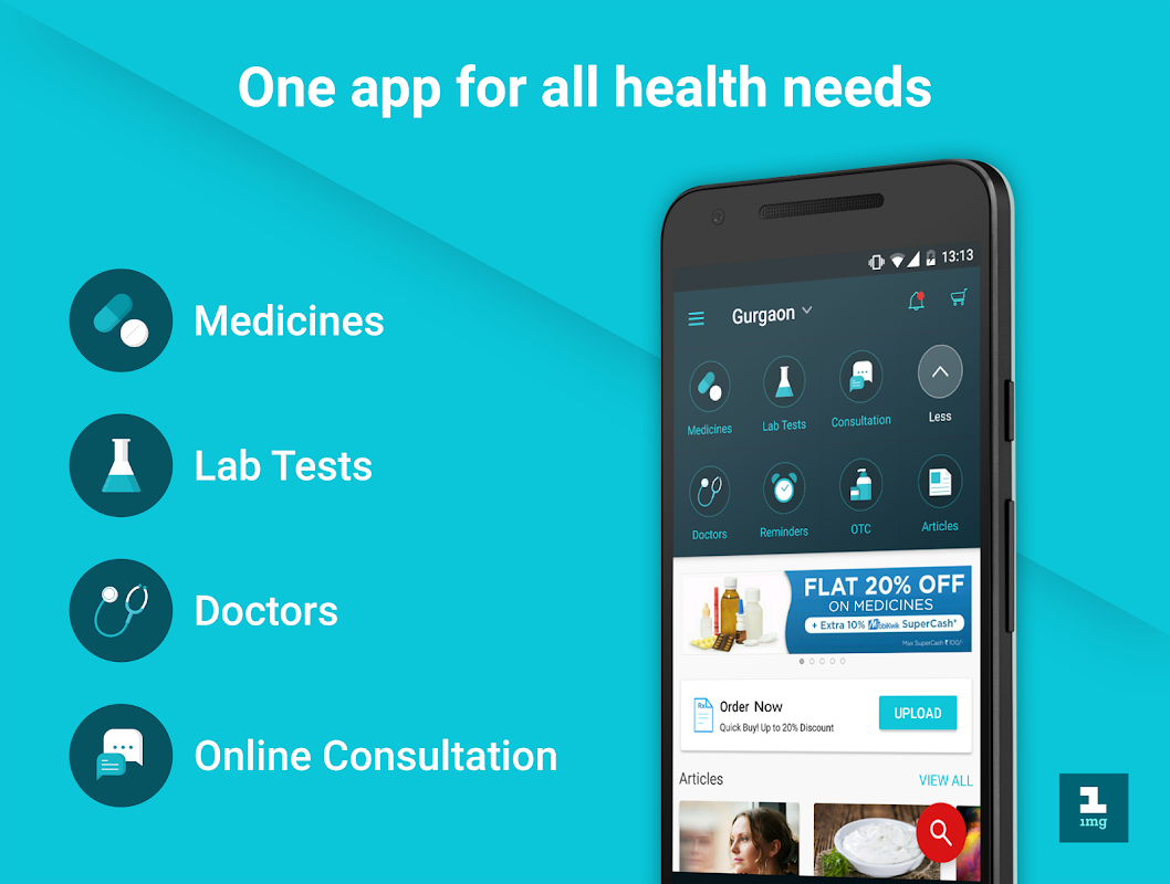 Screenshot 1mg - Medicines, Health Tests, Doctor Consultation APK