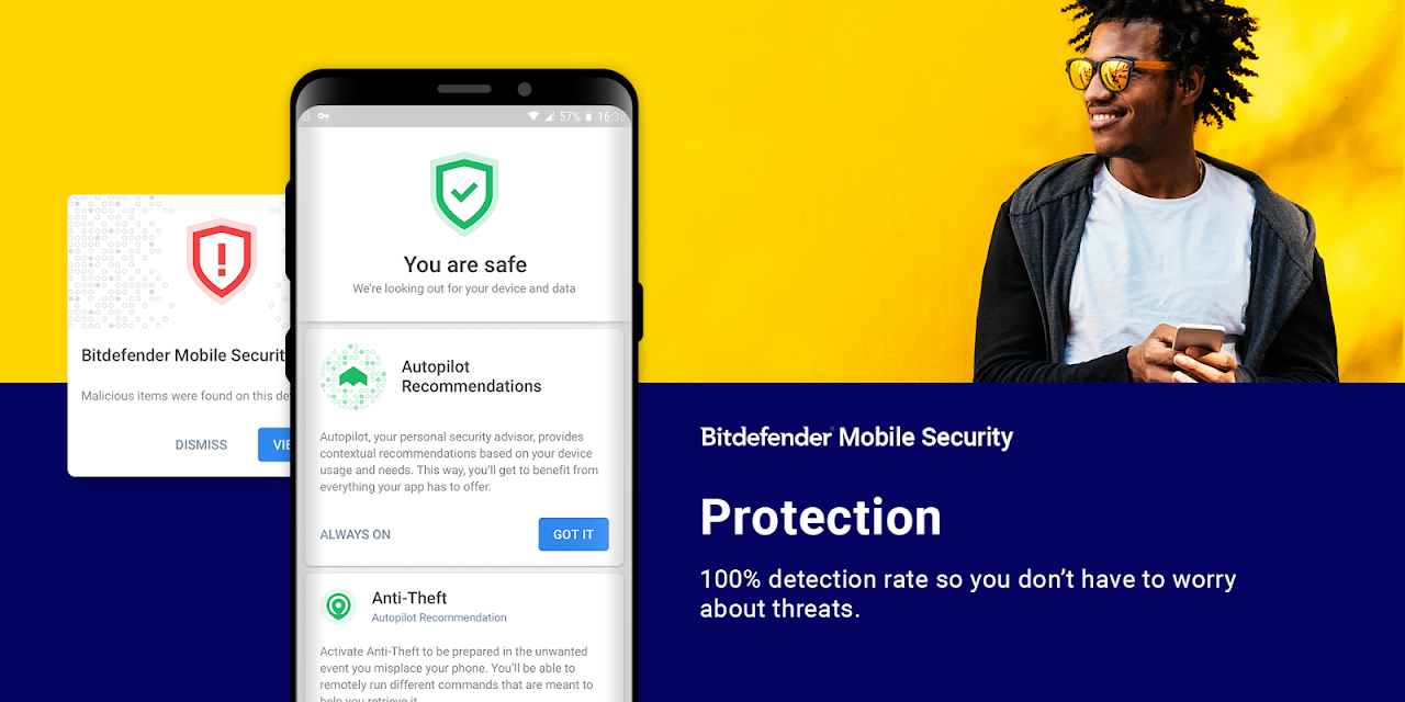 Bitdefender Mobile Security & Antivirus The App Store android Code Lads