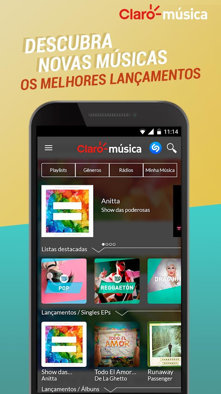 Claro Música The App Store android Code Lads