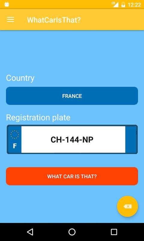 Screenshot What Car Is That? APK