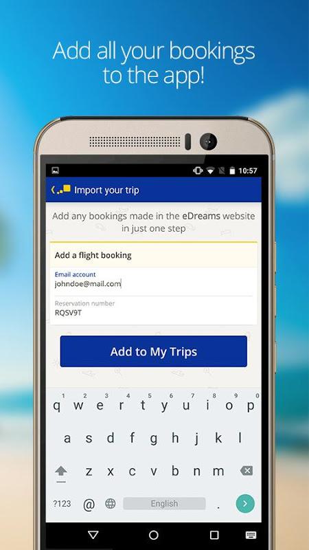 Screenshot eDreams Cheap Flights & Hotels APK