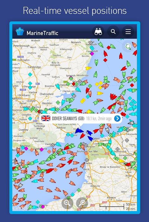 MarineTraffic ship positions The App Store