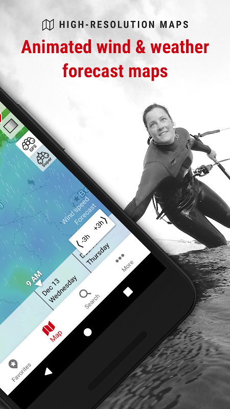 Windfinder Pro - weather & wind forecast The App Store android Code Lads
