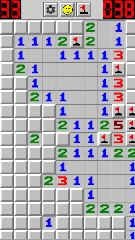 Screenshot Minesweeper Classic APK