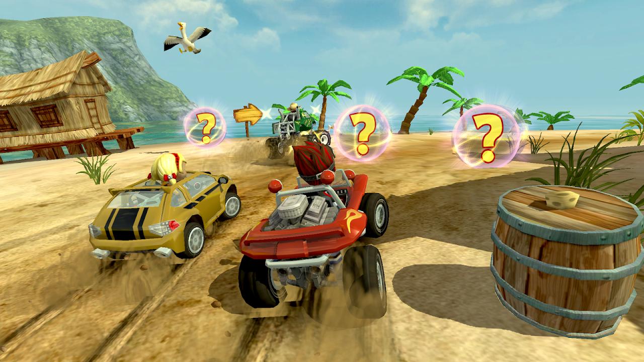 Screenshot Beach Buggy Racing APK