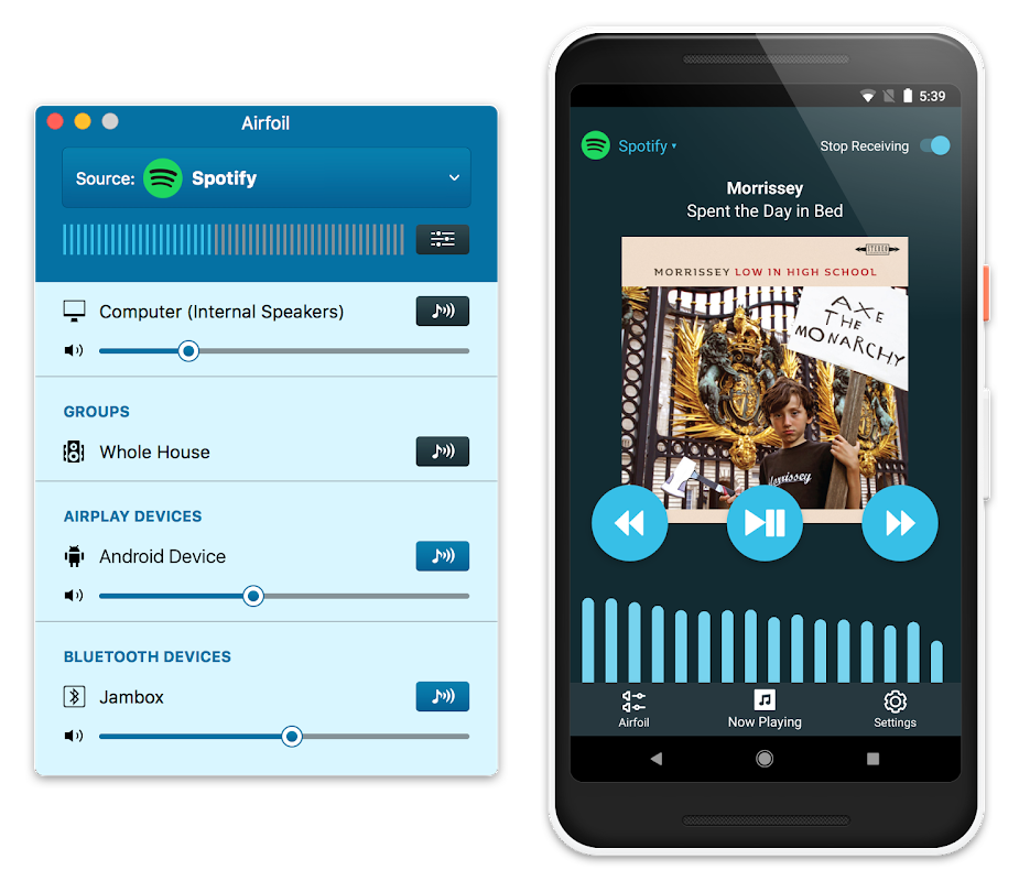 Screenshot Airfoil Satellite for Android APK